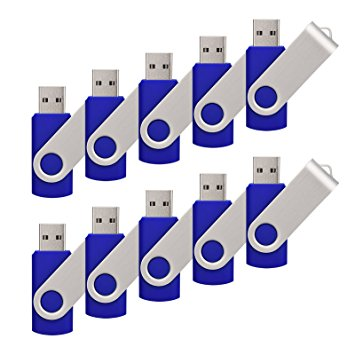 FastKit 10 pcs Swivel 8GB